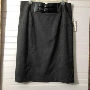 Worthington skirt with mock belt